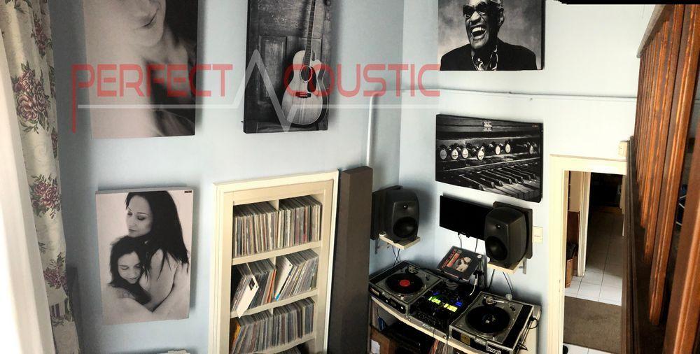 Acústica de estudio con Perfect Acoustic