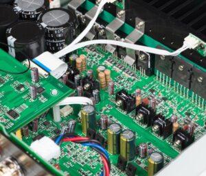 Amplificador SA30 en el interior