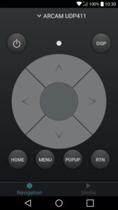 Aplicación-Arcam-Control-para-Android