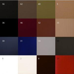 Colores del panel acústico
