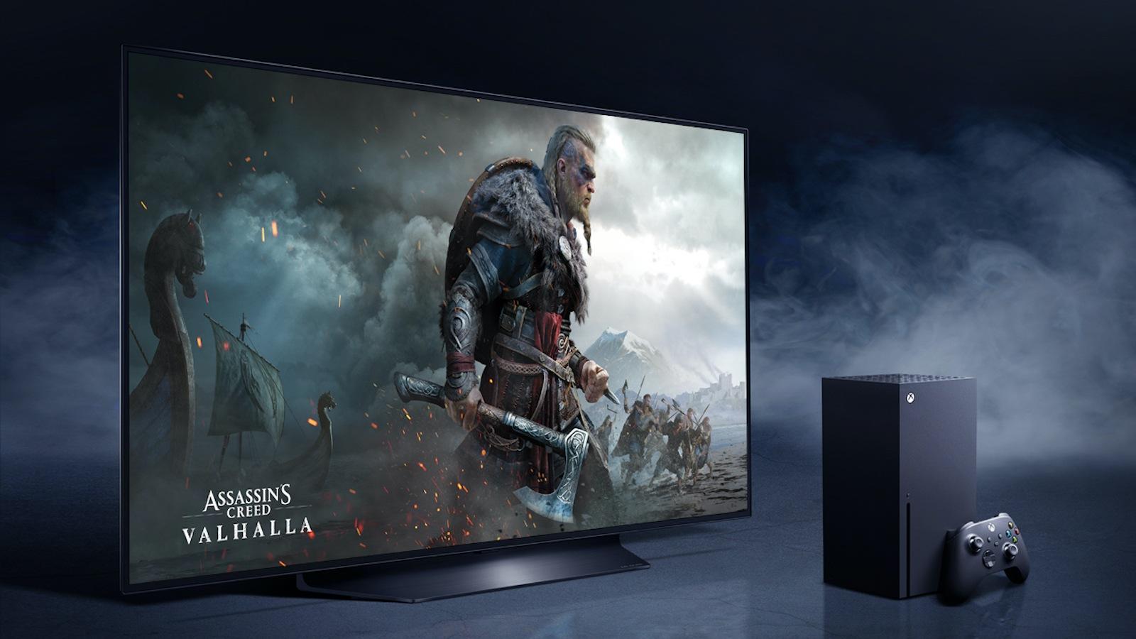 Consola para LG OLED y XBOX