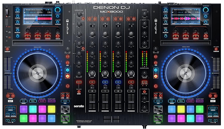 Controles Denon-Dj-McX-8000