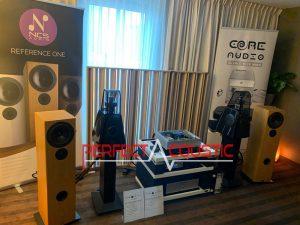 Core audio hifi show, presentación de absorción acústica