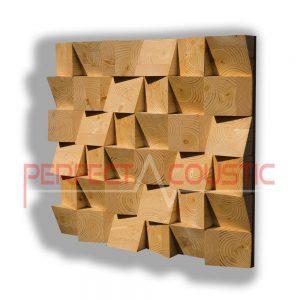 Difusor acústico de madera