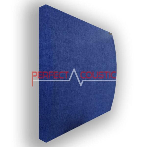 Panel 3D en azul