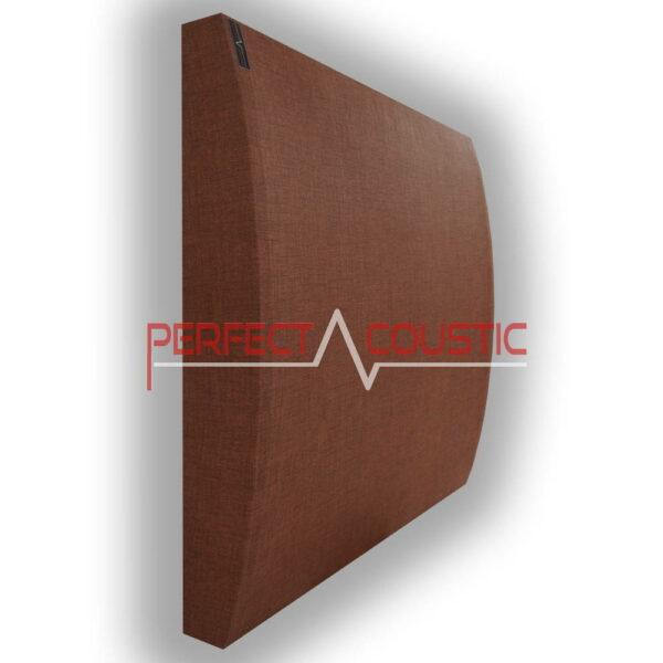 Panel 3D marrón