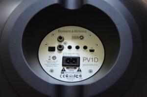 Panel trasero del subwoofer P1D