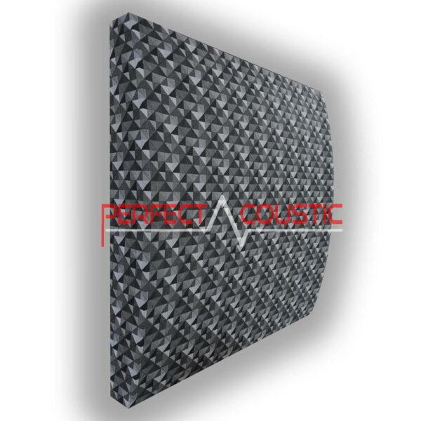 Patrón a cuadros de panel 3D