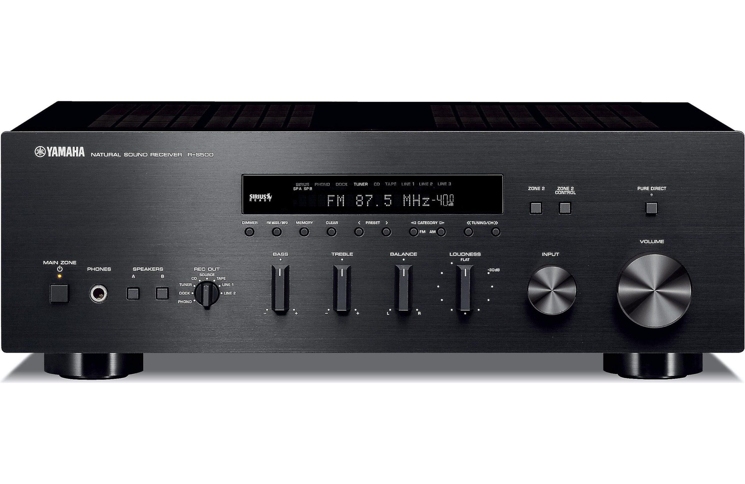 Prueba del receptor Yamaha R-S700
