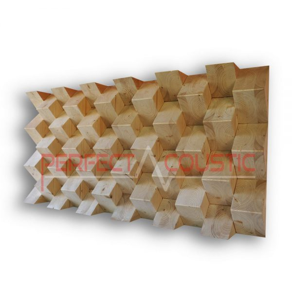Pyramid acoustic diffusers color (2)