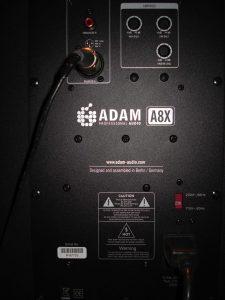 Revisión del altavoz Adam A8X