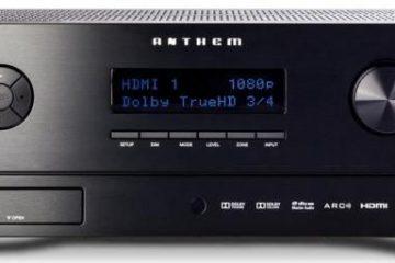 Sintonizador de amplificador AV Anthem MRX710