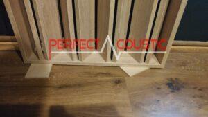 Sospensione di pannelli per soffitti acustici (1)