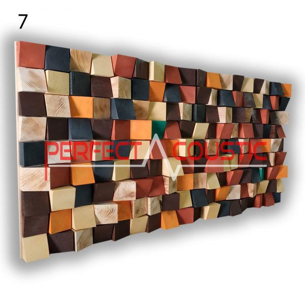 art acoustic diffuser 7 color samples, front. (1)