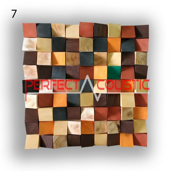 art acoustic diffuser 7 color samples, front. (3)