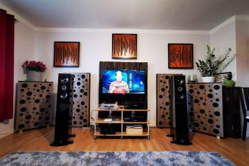 bass trap placed in the cinema room (2)