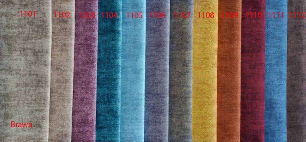 Brava colgar cortinas (texturizado)