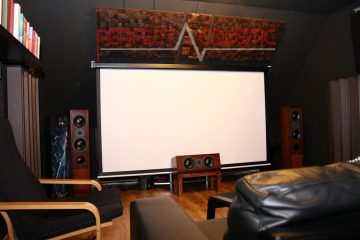 cinema room acoustics design with acoustic absorbers (2)
