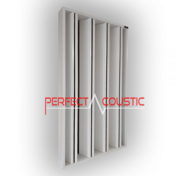 column acoustic diffuser white