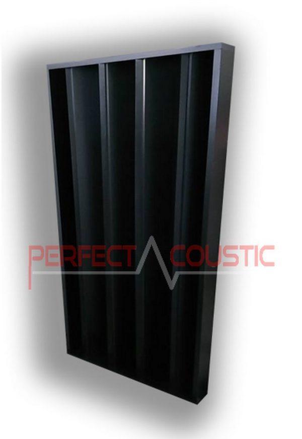 columnar acoustic diffuser black