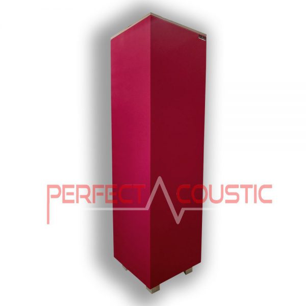 cube bass trap red