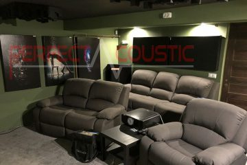 diseño acústico de salas con Absorbentes acusticos