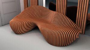 diseño de mobiliario paramétrico