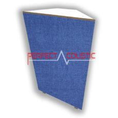 elemento de esquina trampa de graves azul