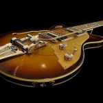 gitarristtryckta akustiska paneler