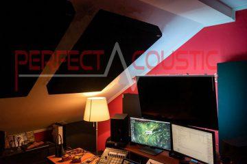 medición acústica del estudio de la azotea