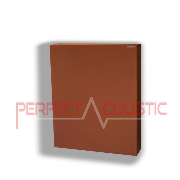 panel acústico marrón