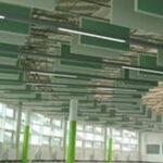 paneles de techo verdes