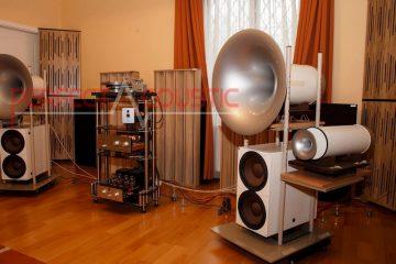 reparación de acústica de sala de alta fidelidad