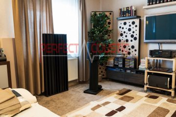 sala de estar con paneles acústicos (2)