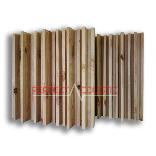striped acoustic diffuser natur